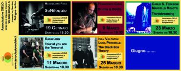Concerti a CIELO – N.2  Drums & Books con Francesco Cusa